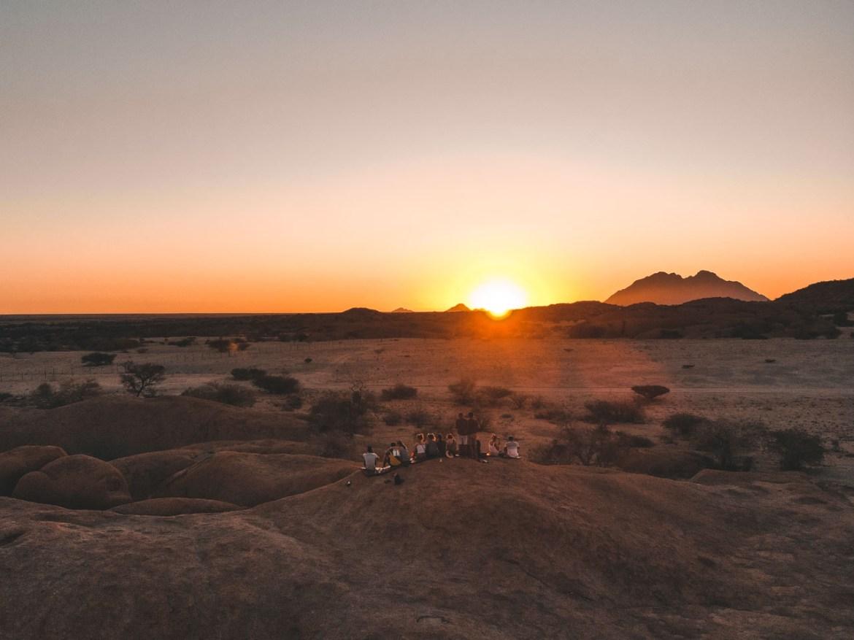 Namibia Spitzkoppe Campsite