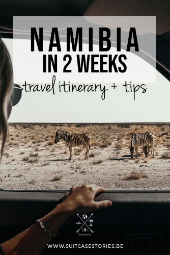 Namibia in 2 weeks travel itinerary + tips