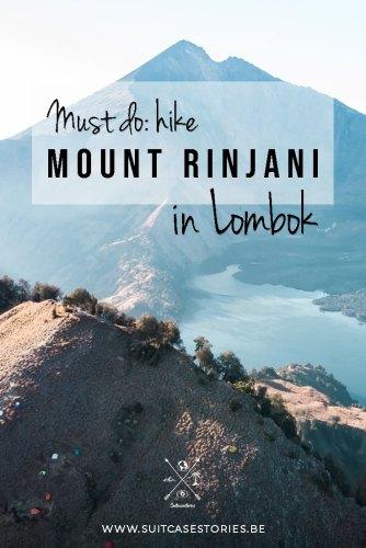 Hike Mount Rinjani on Pinterest