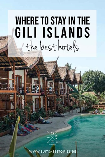 Gili Islands best hotels