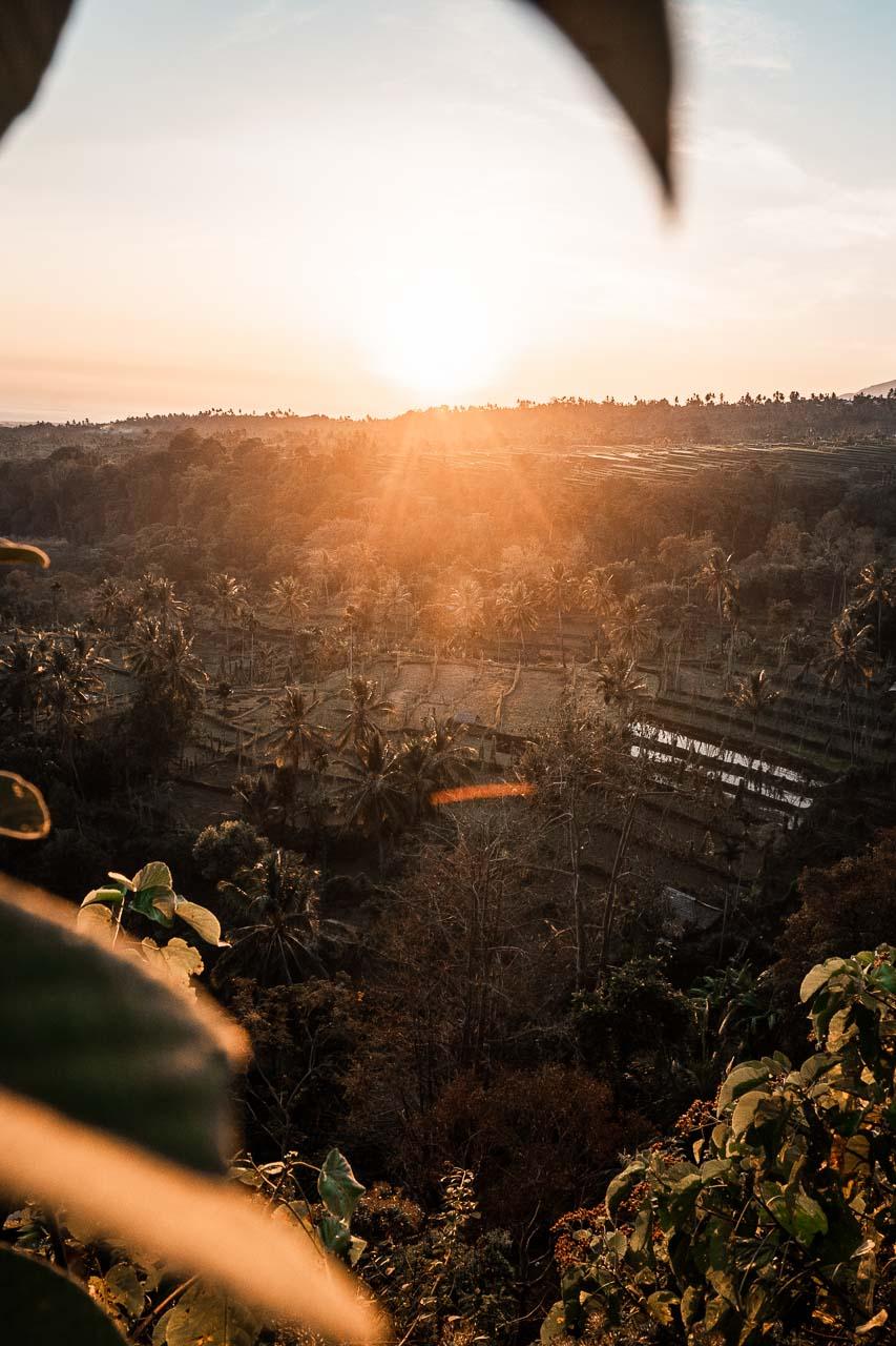 Senaru sunrise Lombok