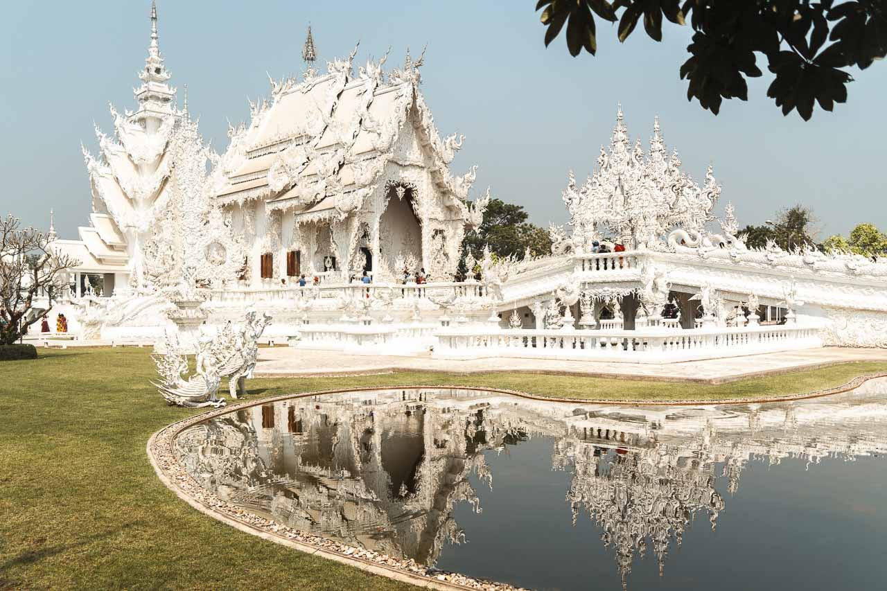 Chiang Rai route Thailand