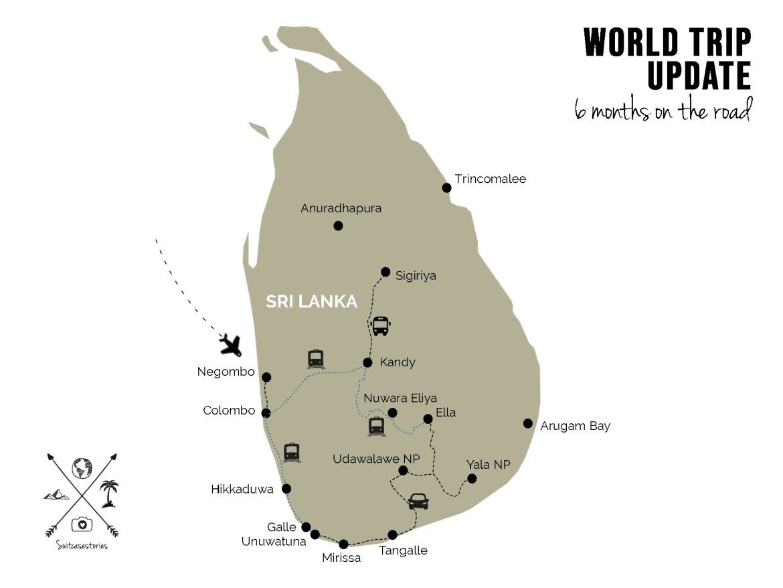 World trip update month 6: Sri Lanka