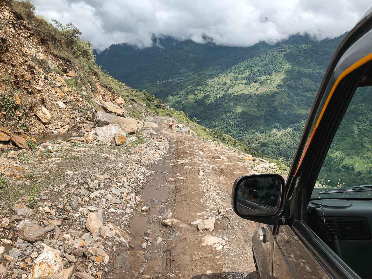 roads in Nepal
