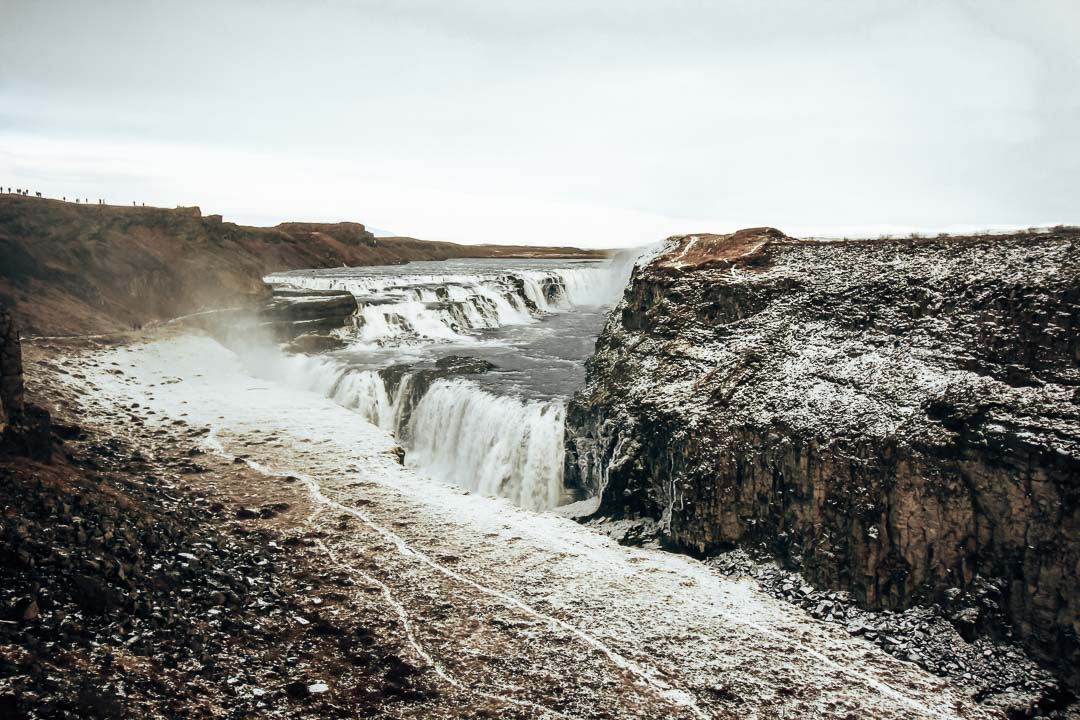 Iceland Route - Road Trip Itinerary - Gulfoss