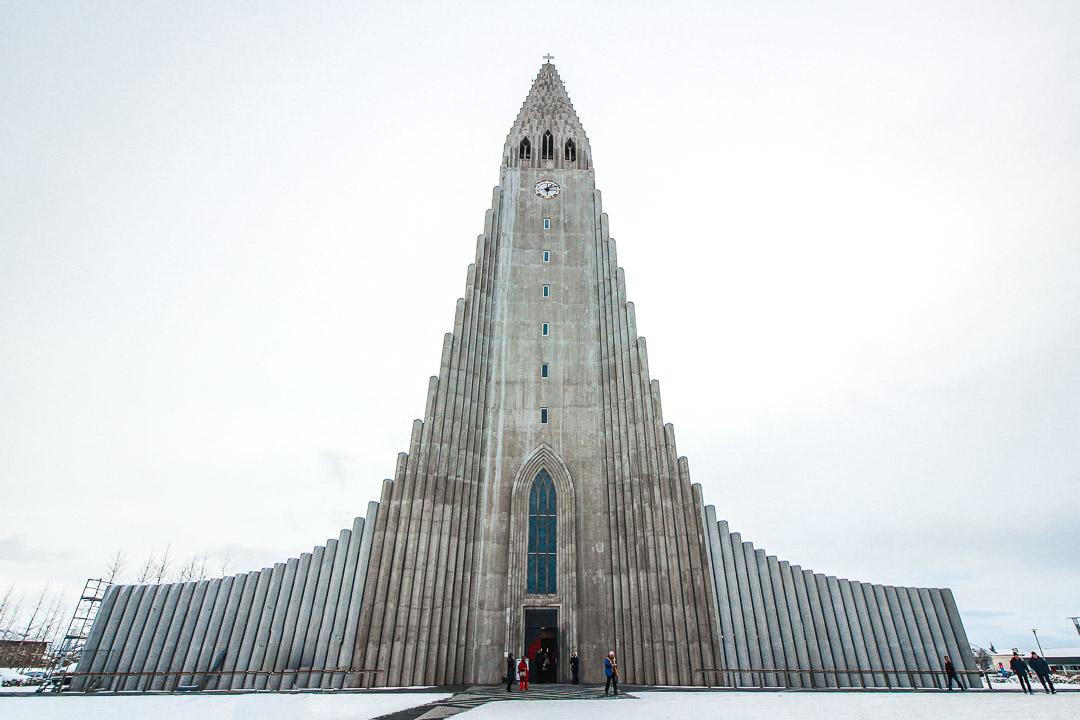 Hallgrimskirkja church - Reykjavík