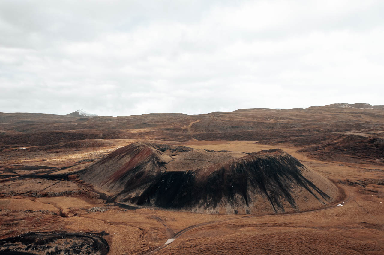 Saxhóll Volcanic Crater