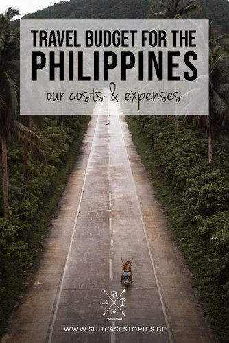 Travel budget for the Philippines - our costs & expenses