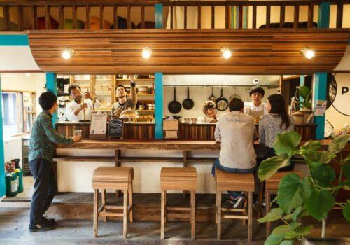 the Pax Hostel Osaka
