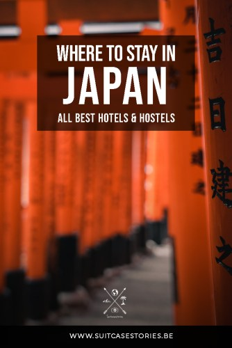 Where to stay in Japan - best hotels and hostels