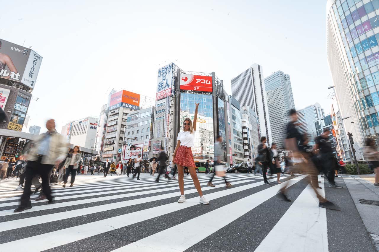 Tokyo streets Shinjuku