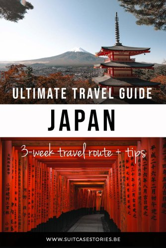 Japan in 3 weeks - travel route, guide + tips