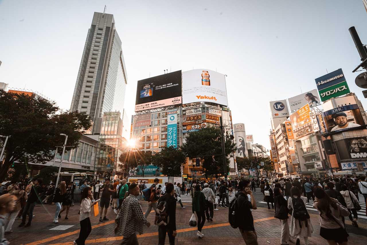 Shibuya Crossing - Tokyo Japan