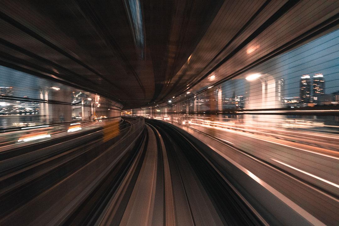 Tokyo Metro Subway - Rainbow Bridge