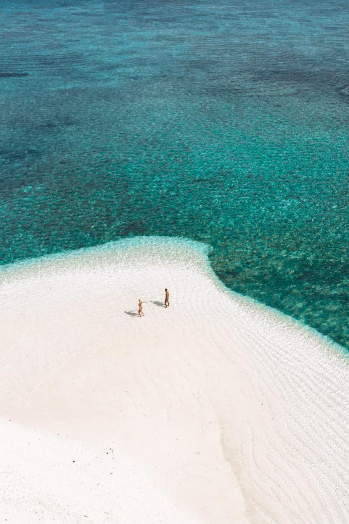 Patongong Island by drone - Balabac