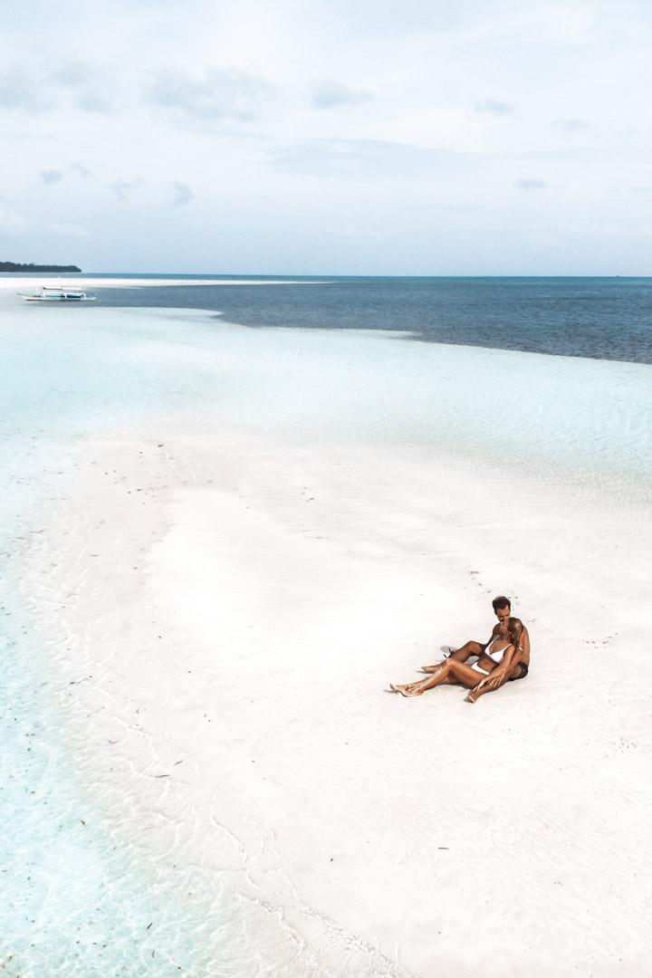 Punta Sebaring sandbar Balabac Palawan