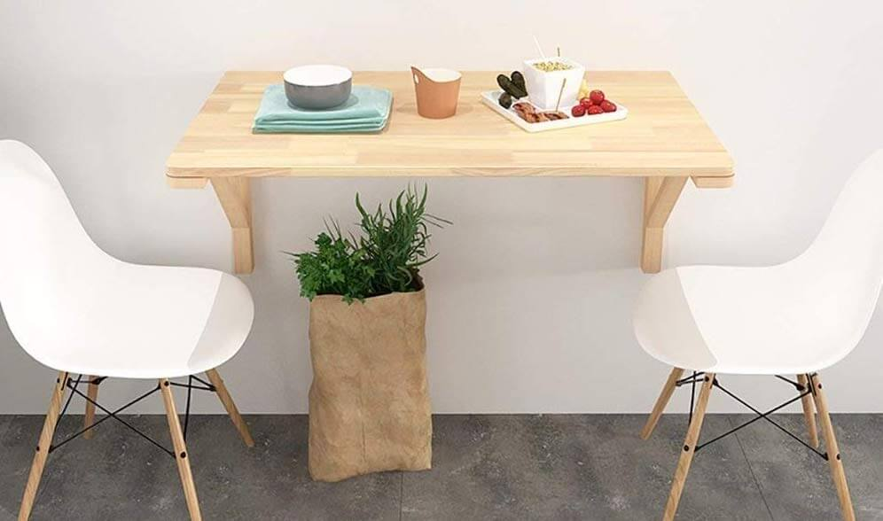 table pliante et escamotable