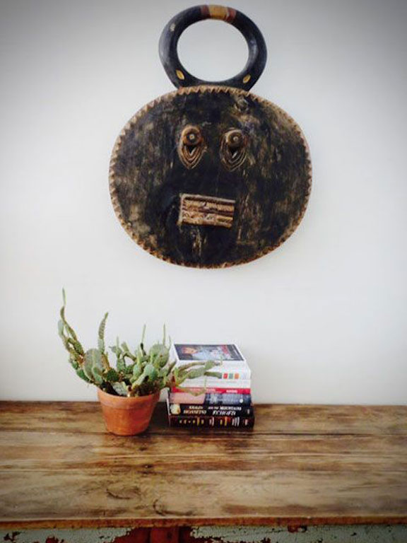 Kpele Kpele Mask as wall art