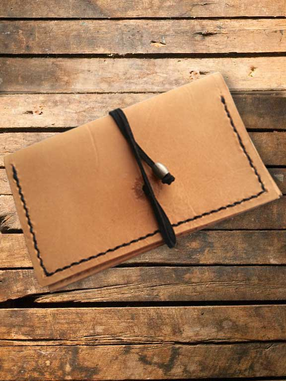 Leather Card Holder from Tandy Leather Workshop