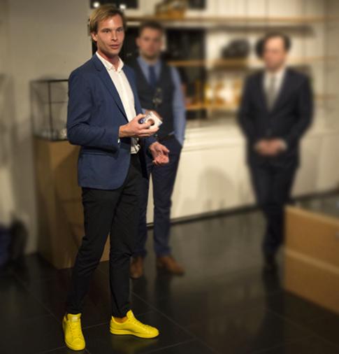 designer Erik Boogerd at X BANK, Amsterdam