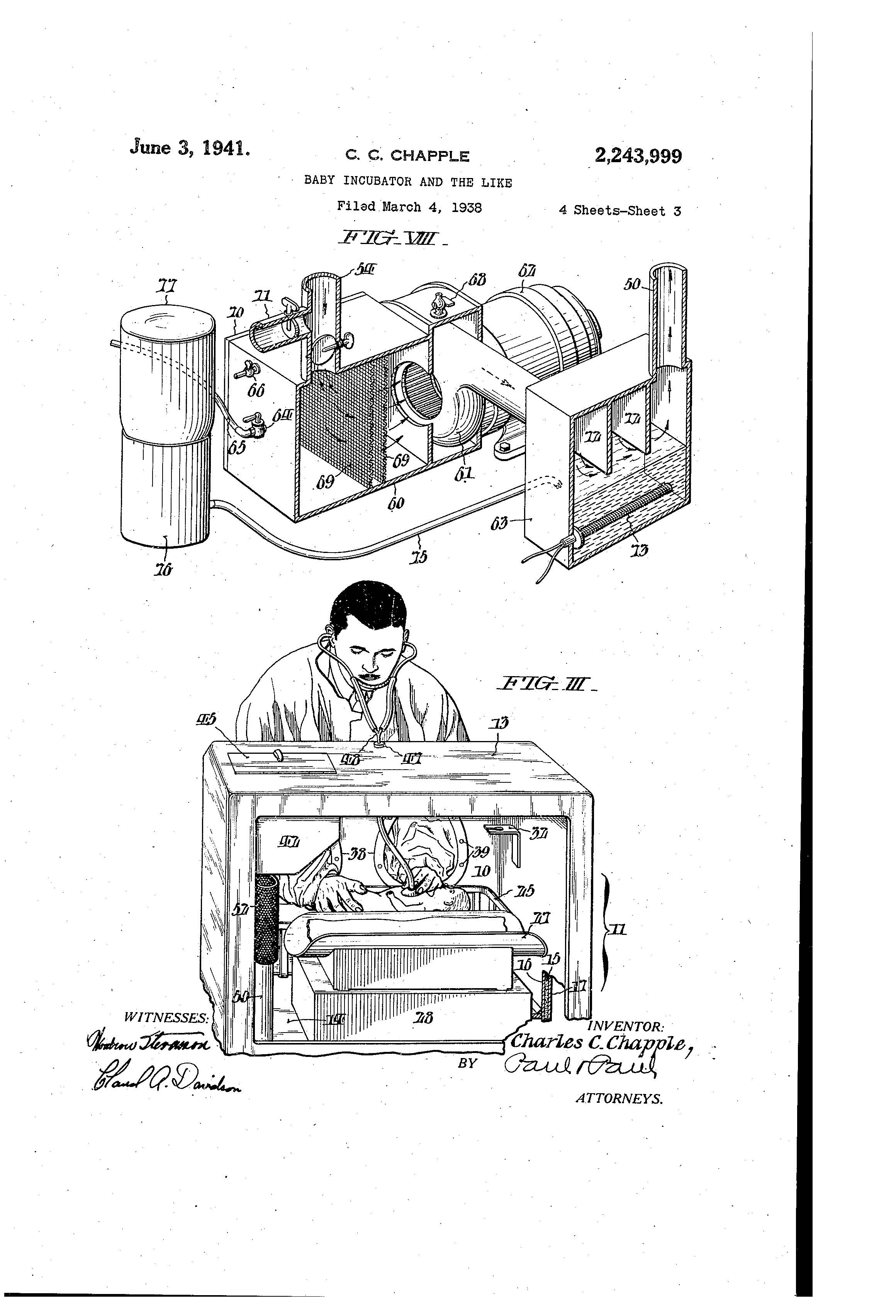 Patent Of The Day Baby Incubator And The Like