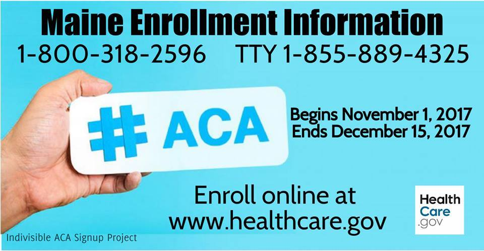 ACA OPEN ENROLLMENT: Spread The Word!