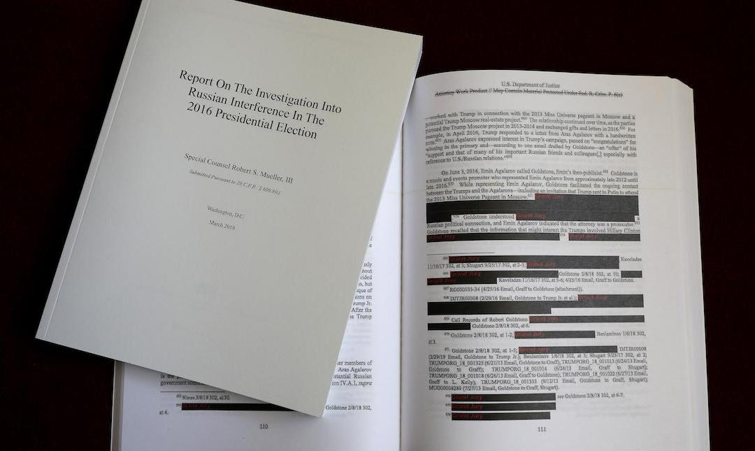 THE MUELLER REPORT: Reset the Narrative
