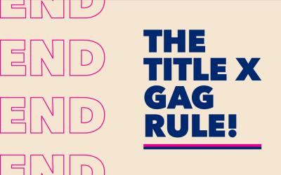#FixTitleX: Reverse Trump's family planning gag rule
