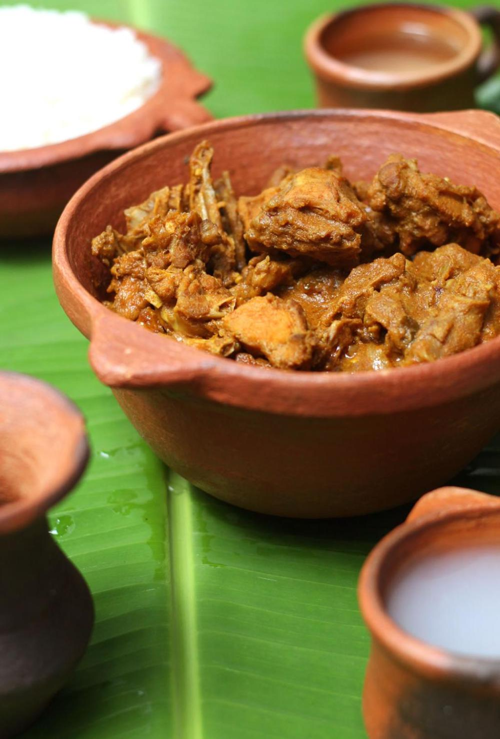 Kerala style Nadan kozhi curry