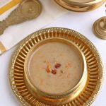 Healthy Oats Carrot Payasam with coconut milk