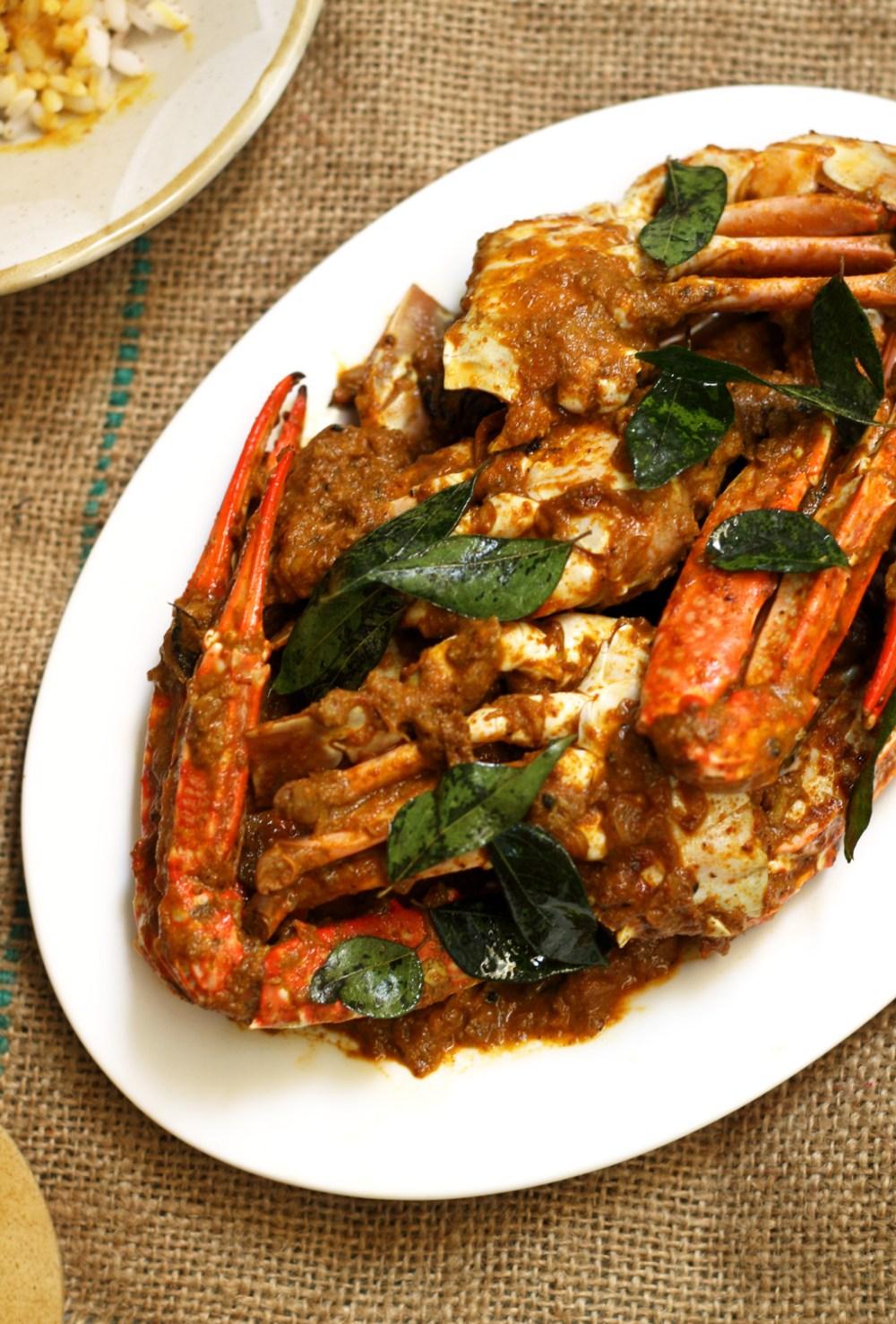 Nadan Crab Roast or Nchandu Ularthiyathu