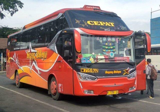 BUS SUGENG RAHAYU CEPAT