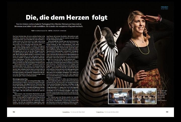 Isabelle Tschugmall Coop Zeitung