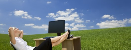 relaks w pracy