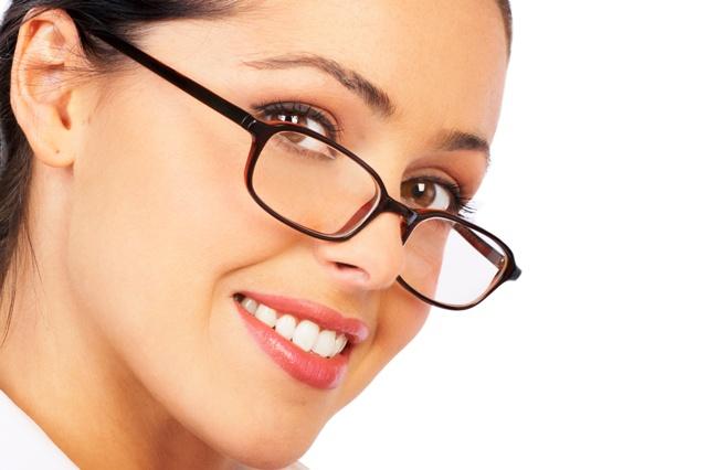 okulary makijaż