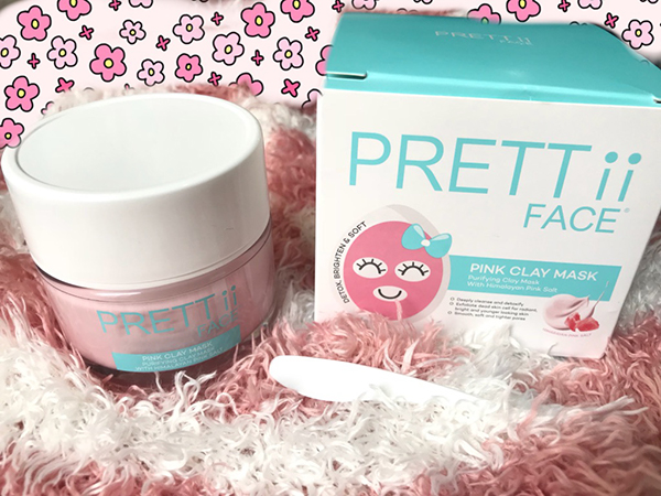 Prettii Face Pink Clay Mask