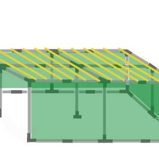 16x24 Tubular Sukkah Kit