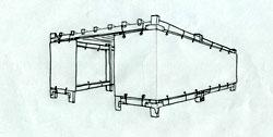 12x16 Wood-Frame Sukkah Kit