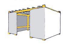 8x12 Wood-Frame Sukkah Kit