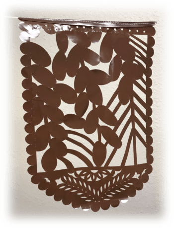 Dates Flag sukkah decoration from The Sukkah Project®