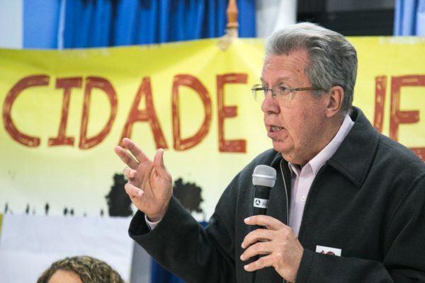 """Raul Pont: """"O conselho que trata do Plano Diretor virou um espaço de lobismo patronal"""". (Foto: Guilherme Santos/Sul21)"""