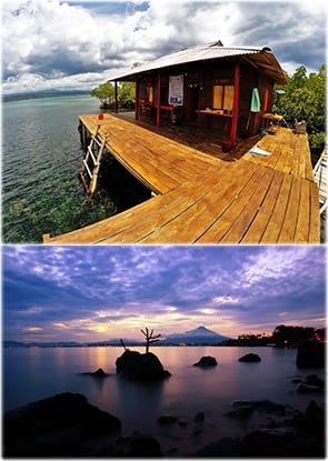 Tumbak Cottage with Sunset View