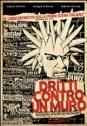 Italian hc punk Dritti contro un muro copertina