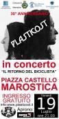 Plasticost locandina concerto Marostica VI 19 luglio 2013 30° anniversario