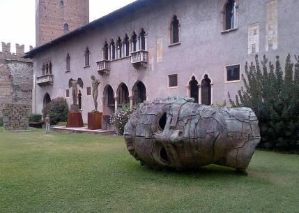 Mitoraj Castel Vecchio Verona 2013