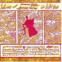 Massimo Giacon Trax 07 84 Spirocheta Pergoli Fuzzi Bugsi Tumpa Il Bongo! - 1984 retro cover Vittore Baroni