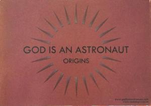 God Is An Astronaut postcard