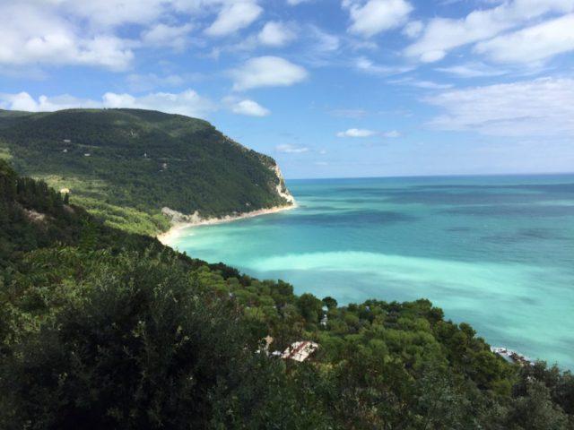 Promontorio del Conero, mare Adriatico