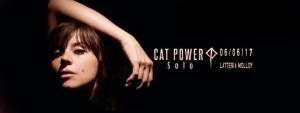 Cat Power Brescia gig poster Latteria Molloy 06/06/2017