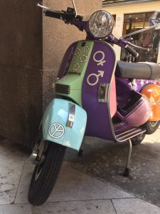 Vespa Piaggio summer of love 1967 estate dell'amore